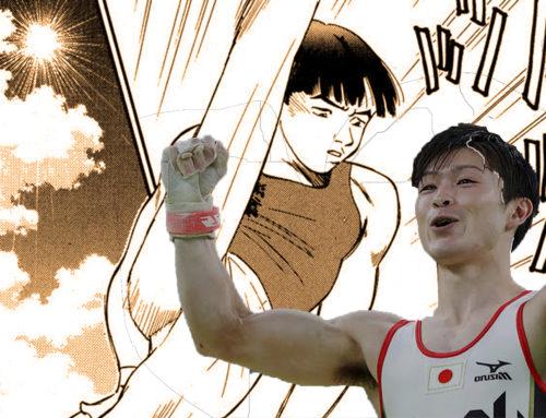 Kohei Uchimura Soars Thanks To Manga